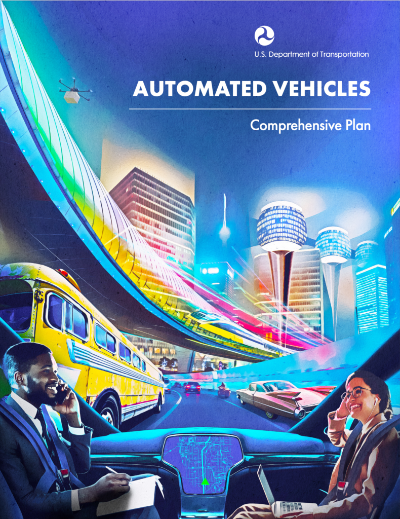 Automated Vehicles Comprehensive Plan - Cover