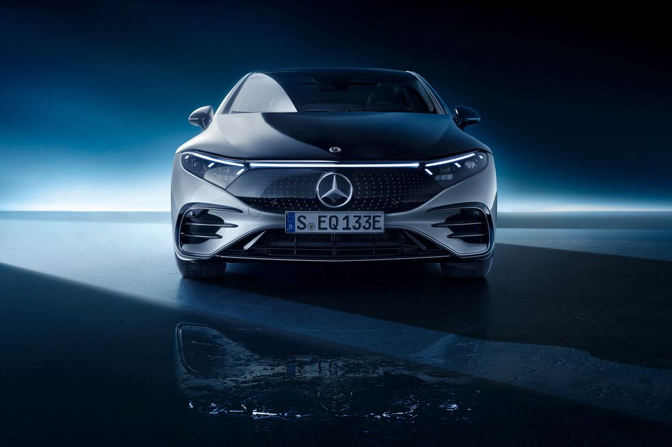 Mercedes EQS Full Reveal (Photos)